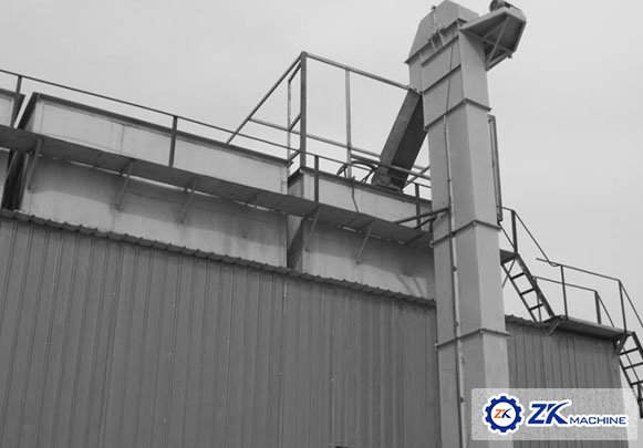 <b>Uzbekistan screw conveyor and bucket elevator project</b>